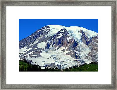Majestic Mountain Framed Print by Lynn Bawden