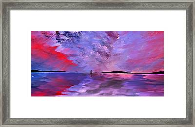 Majestic Framed Print by Wally Boggus