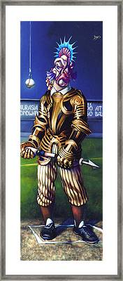 Major League Gladiator Framed Print by Patrick Anthony Pierson