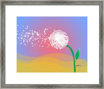 Make A Wish Framed Print by Anthony Caruso