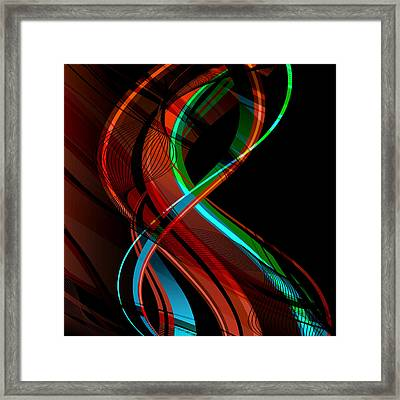 Making Music 1 Framed Print by Angelina Vick