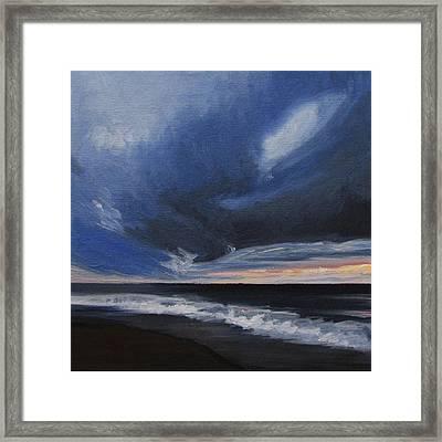 Malibu Sunset Framed Print by Cristin Paige