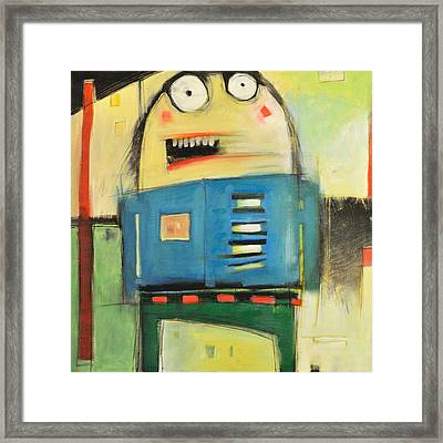 Mall Cop Framed Print by Tim Nyberg