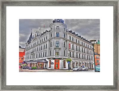 Malmo Sweden Framed Print by Barry R Jones Jr