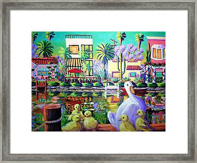 Mama's Got Her Work Cut Out.  Framed Print by Frank Strasser