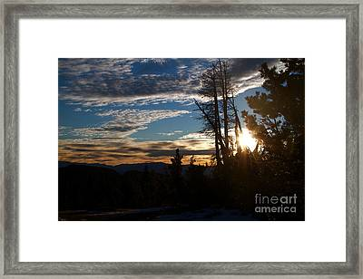 Mammoth Mountain California At Sunrise Framed Print by ELITE IMAGE photography By Chad McDermott