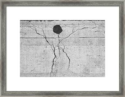 Man In The Street Framed Print by Jim Wright