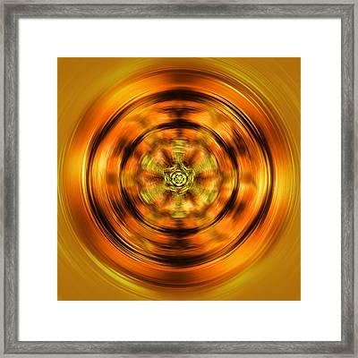 Mandala 02 Framed Print by Li   van Saathoff