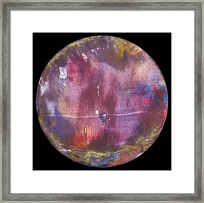 Mandala 9 Framed Print by Heather Hennick