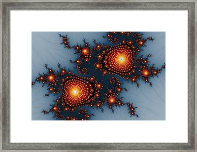 Mandelbrot Byways No. 6 Framed Print by Mark Eggleston