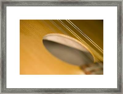 Mandolin Core Framed Print by C Ribet
