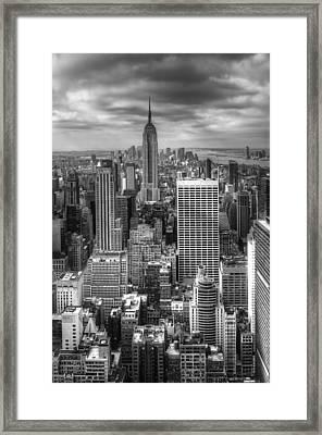 Manhattan01 Framed Print by Svetlana Sewell