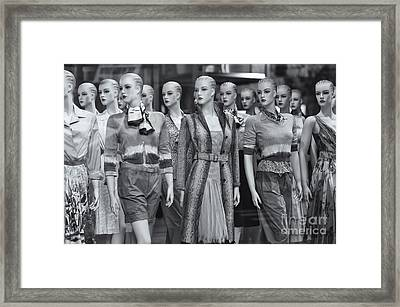 Mannequins II Framed Print by Clarence Holmes