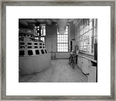 Manpower Framed Print by Jan W Faul