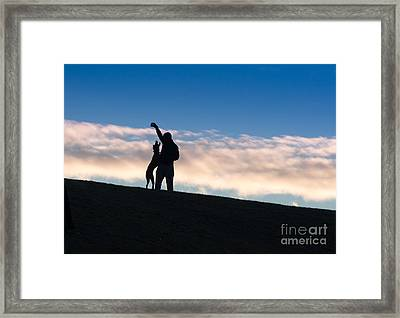 Mans Best Friend Framed Print by Andrew  Michael