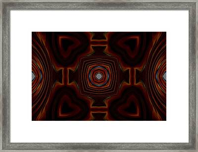 Mantle Framed Print by Chad Wasden