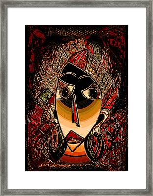 Marali Framed Print by Natalie Holland