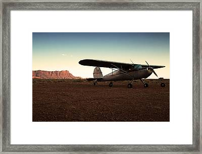 Marble Canyon Framed Print by Aurica Voss