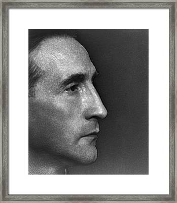 Marcel Duchamp 1890-1976 French Painter Framed Print by Everett
