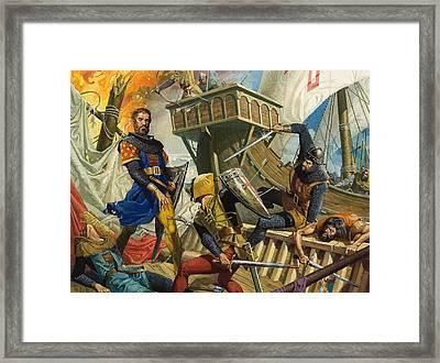 Marco Polo Framed Print by Severino Baraldi