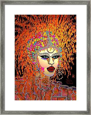 Mardi Gras Framed Print by Natalie Holland