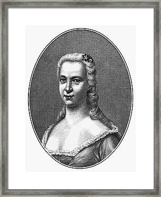 Margareta Moller Klopstock Framed Print by Granger