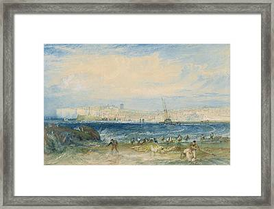 Margate Framed Print by Joseph Mallord William Turner