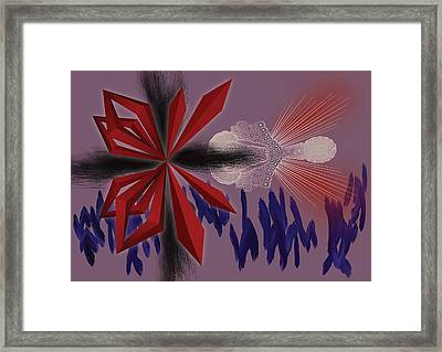 Margielo Framed Print by Foltera Art