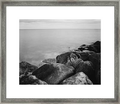 Margin To Infinity Framed Print by Marcio Faustino