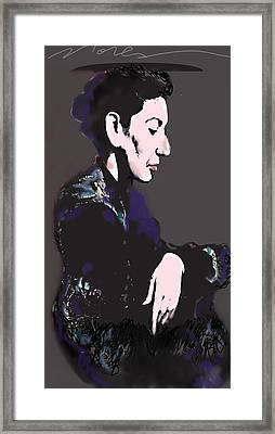 Maria Callas Framed Print by Noredin Morgan
