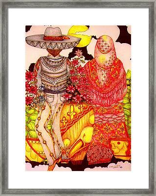 Mariachi Wedding Framed Print by Dede Shamel Davalos