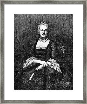 Marie De Vichy-chamrond Framed Print by Granger