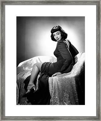 Marie Windsor, 1947 Framed Print by Everett