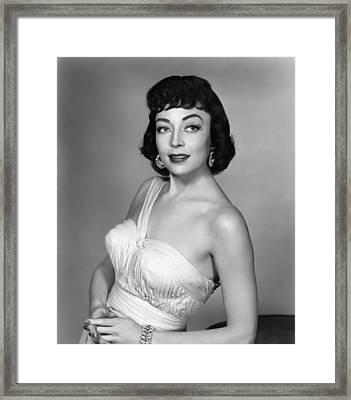 Marie Windsor, 1955 Framed Print by Everett