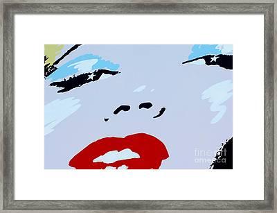 Marilyn Monroe 1 Framed Print by Micah May