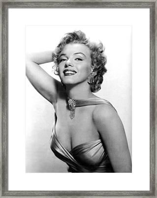 Marilyn Monroe, Circa 1950s Framed Print by Everett