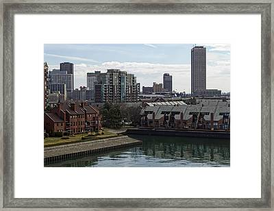 Marina Park Framed Print by Peter Chilelli