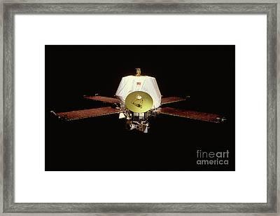 Mariner 9 Satellite Framed Print by Nasa