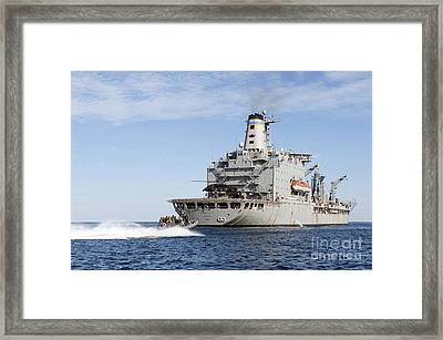 Marines In An Inflatable Boat Head Framed Print by Stocktrek Images