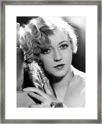 Marion Davies, 1928 Framed Print by Everett