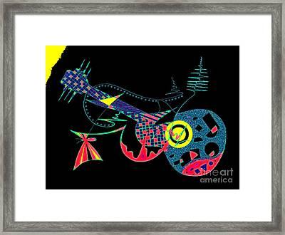 Mariposa Framed Print by Jose Vasquez
