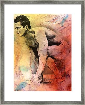 Mark Framed Print by Mark Ashkenazi