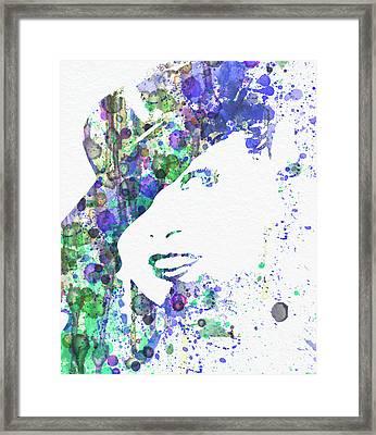 Marlene Dietrich Framed Print by Naxart Studio