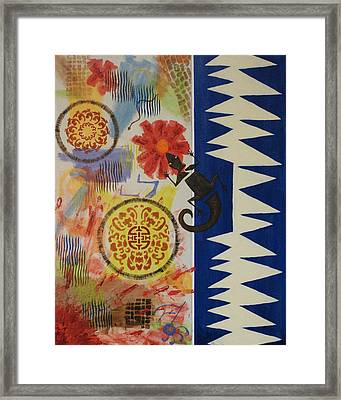 Marrakesh Express Framed Print by Susan Forney