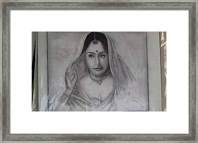 Married Woman Framed Print by Shubham Agrawal