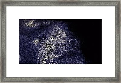 Mars - The Face  Framed Print by Freyk John Geeris