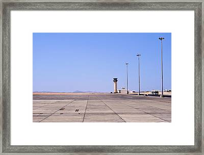Marsa Alam Airport. Egypt. Framed Print by Fernando Barozza