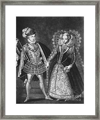 Mary, Queen Of Scots Framed Print by Omikron