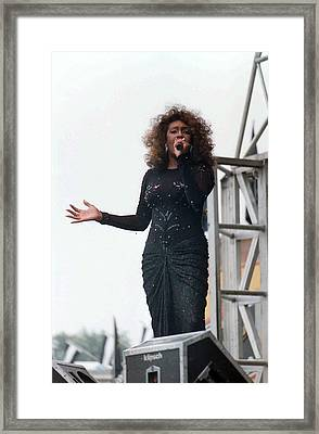 Mary Wilson Framed Print by Mike Martin