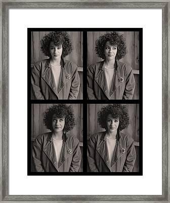 Maryann Framed Print by Tony Ramos